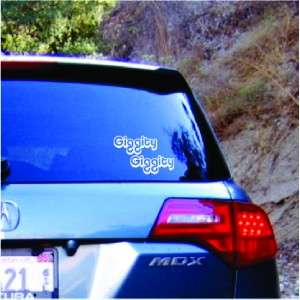 Funny Family Guy Giggity Vinyl Decal Car Sticker