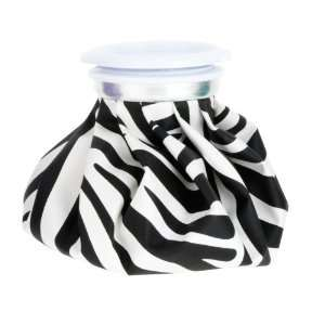 Canada Soap Retro Ice Pack, Cool Queen Black and White Zebra Print