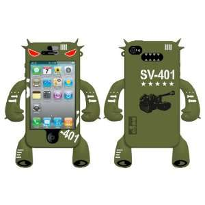 Army Tank Original Robotector Character Silicone Skin for