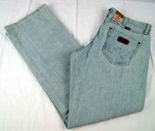 Mens Western Wrangler Retro Boot Cut Premium Patch Jeans NWT 30 x 36 $