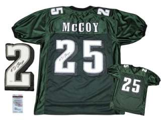 McCoy SIGNED Home Jersey   JSA WPP   Philadelphia Eagles   AUTOGRAPH