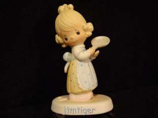 Precious Moments Rare 1979 NO MARK Figurine $175V