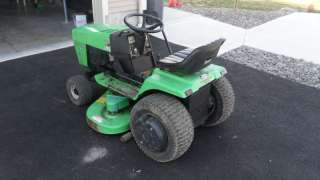 Deutz Allis Sigma 1817 Hydro Garden tractor (Simplicity) w/ deck and