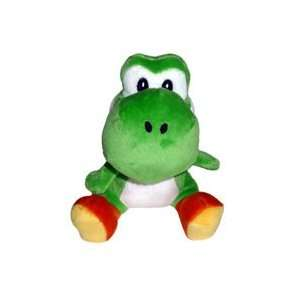 Super Mario Bros. Wii Plush   Green Yoshi Toys & Games
