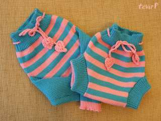 100% MERINO wool STRIPED cloth diaper/nappy soaker/cover BRIEFS or