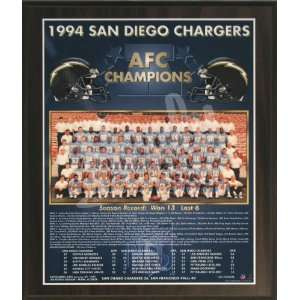 1994 San Diego Chargers NFL Football AFC Championship