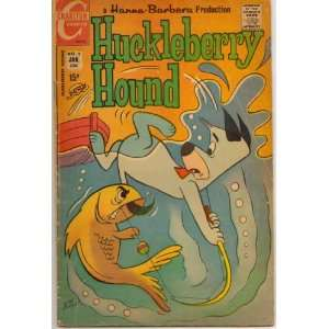 Huckleberry Hound Vol. 2, No. 2 Charlton Books