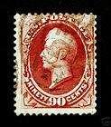 Classic U.S. #155 90c 1872 Carmine Used CV $350