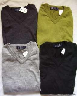 New J. Crew Merino Wool V Neck Sweater NWT