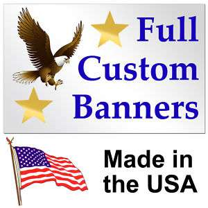 10 Color Custom Banner High Quality Vinyl 4x10
