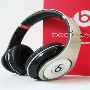 Beats Dr Dre Studio High Definition Headphones Champagne