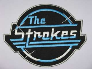 THE STROKES Logo Giant Patch FREE SHIPPING 9x7