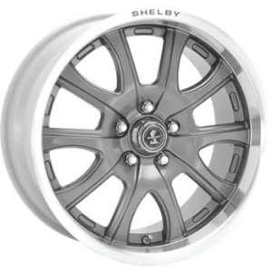 American Racing Shelby Shelby Redline 18x10 Gunmetal Wheel / Rim 5x4.5