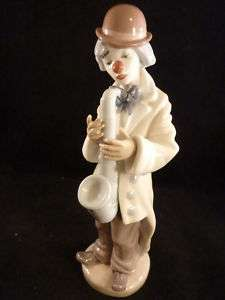 Excellent Vintage LLADRO Sad Clown #5471