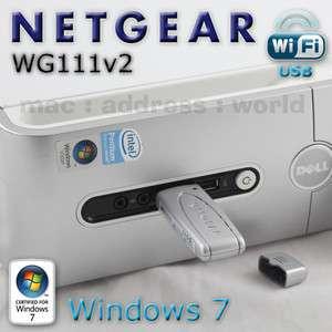 Dell Inspiron 537s 545s 546s Low Profile USB Wireless Card Wifi SFF
