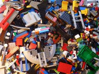 LEGO 1000 Bricks Blocks Baseplates Base Plate Wheels lbs City Town