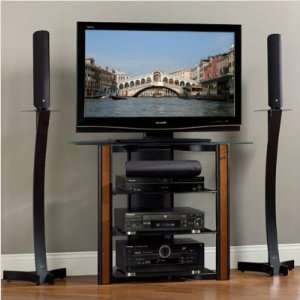 52 corner tall bedroom height tv stand console louvered doors in