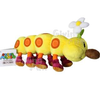 GENUINE Nintendo Super Mario Bros 10 Wiggler Plush Toy