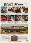 1979 Chevrolet Caprice Classic Estate Wagon car ad GM