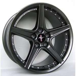 Ford Mustang Saleen R Style Wheel Gunmetal Wheels Rims 1994 1995 1996