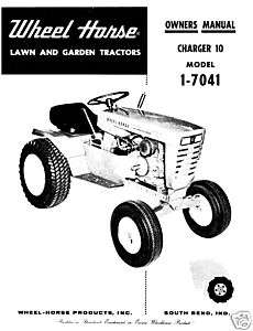 1968 Wheel Horse Raider 10 Lawn Garden Tractor for Parts or
