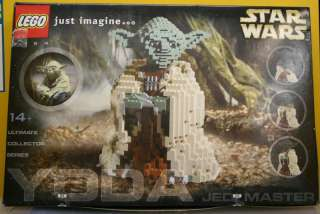 MINT SEALED BOX Lego Star Wars Yoda 7194 Collectors Quality