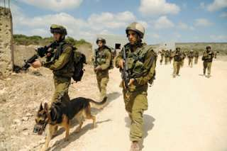 SAYERET OKETZ ISRAEL IDF ARMY INDEPENDENT CANINE SPECIAL FORCES UNIT