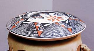 Acoma Pueblo Handmade Pottery Decorated Water Jar