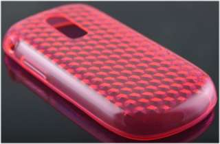 New Pink Gel Skin / Cover / Case for Alcatel OT806 / OT 806