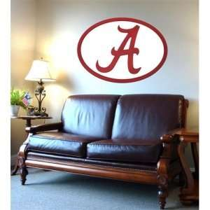Alabama Crimson Tide NCAA Logo Wall Art: Sports & Outdoors