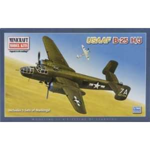 Models   1/144 B25 H/J Mitchell (Plastic Model Airplane) Toys & Games