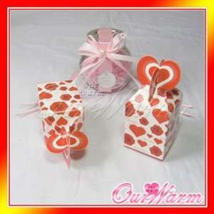 Wedding Supplies Gift Card Box Money Holder with Heart Shape Lock