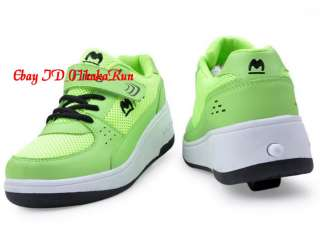 NEW Heelys High Quality Wheelies Roller Shoes Girls Boys Trainers SZ