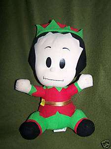 Baby Popeye Olive Oyl Oil Elf Stuffed Plush 10 2006