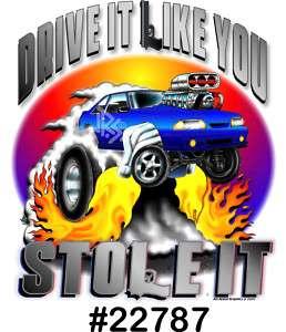 87 93 MUSTANG GT 5.0 Drag Hot Rod Muscle CarTOON Shirt