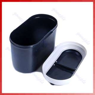 Mini Car Dustbin Trash Rubbish Can Garbage Dust Box Case Holder Bin