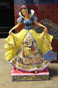 NIB Disney Traditions SNOW WHITE Fairy Tale Jim Shore
