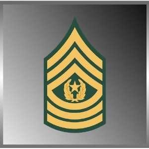 com United States US Army Rank Command Sergeant Major Emblem Insignia
