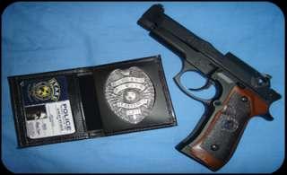 Albert Wesker STARS ID Card Resident Evil Cosplay