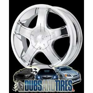 17 Inch 17x7 Ion Alloy wheels STYLE 115 Chrome wheels rims