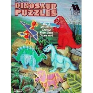 Canvas Dinosaur Puzzles (Annies Attic #879507) Sue Penrod Books