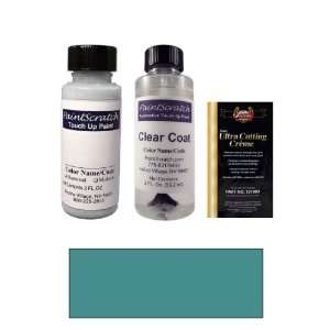 Oz. Medium Aqua Metallic Paint Bottle Kit for 2010 Toyota Camry (8U8