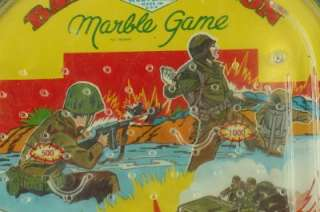 Military WOLVERINE Pinball Toy Battle Action Marble Game