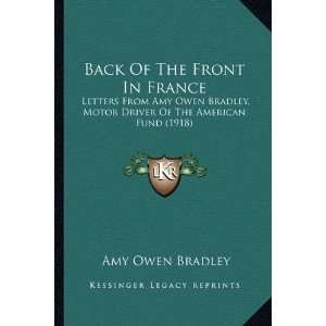 Of The American Fund (1918) (9781164583547): Amy Owen Bradley: Books