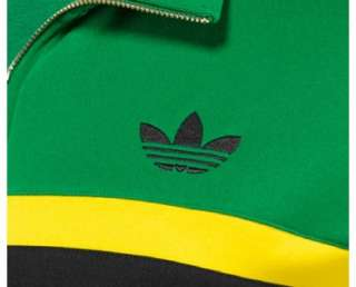 Adidas Originals Jamaica Track Top Jacket M MEDIUM Rasta