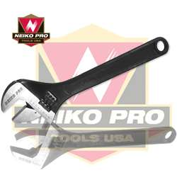 18 Adjustable Wrench Black Finish Professional Series
