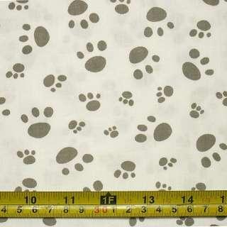 Puppy Dog Paw Print Cotton Quilt Fabric W 63 c906