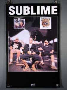 Sublime Bradley Nowell, Excellent Condition Poster