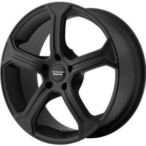 American Racing Vintage MC5 19x10 Black Wheel / Rim 5x4.75 with a 79mm