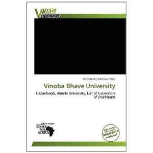Vinoba Bhave University (9786137989975): Ozzy Ronny